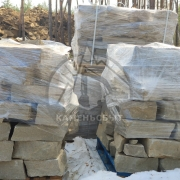 "Кладочный камень ""Ровный край"" 80-120мм"